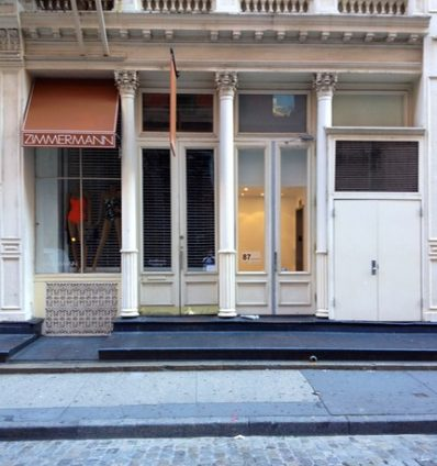 NYC exterior painting before