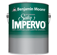 Waterborne satin impervo paint