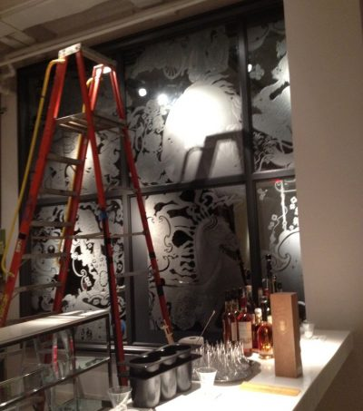 bar area painter nyc