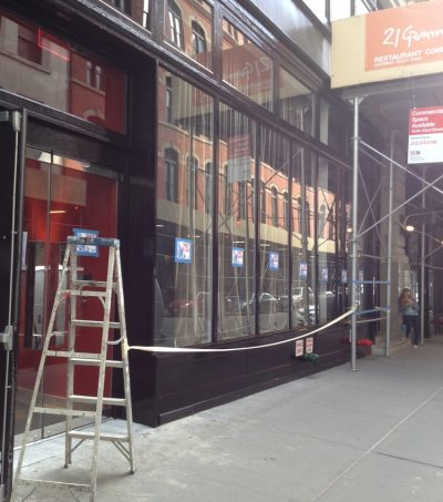storefront painters nyc