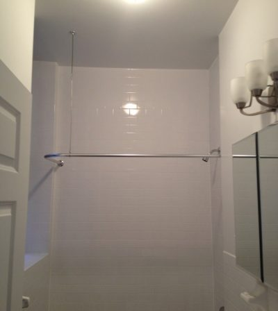 bathroom painted lower manhattan nyc
