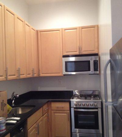 kitchen painted lower manhattan nyc