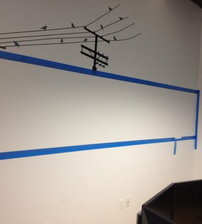 dry erase paint in commercial office new york city