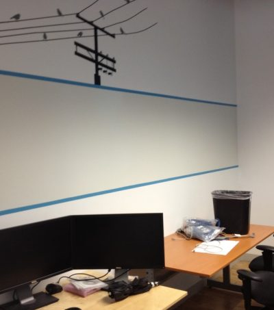 whiteboard paint in commercial office new york city